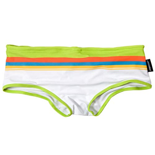 Yowablo Herren Badehose Sports Sommermode Regenbogen Boxer Badebekleidung (XL,8B)