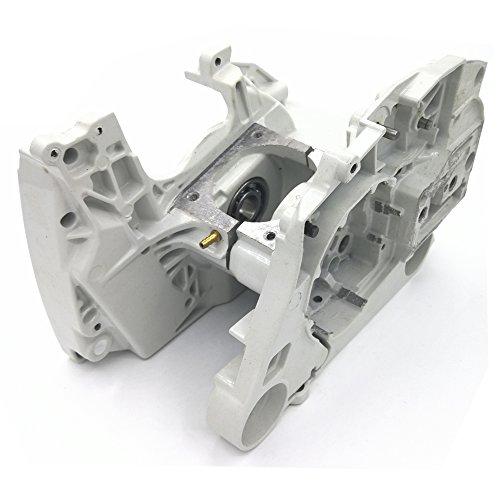 Cancanle Carcasa del Motor del cárter de Aluminio para Motosierra STIHL MS440 044 Parte NO. 1128 020 2136, 1128 020 2122
