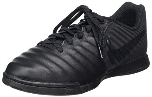 Nike Unisex-Kinder Tiempo LegendX VII Academy Indoor Fitnessschuhe, Schwarz (Black/Black 001), 36 EU