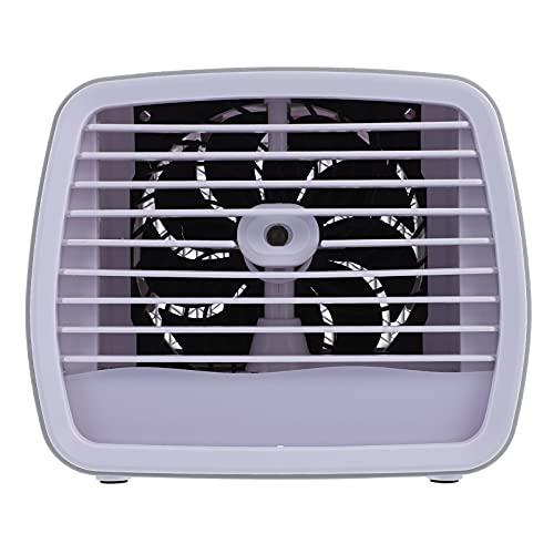 VOSAREA Mini ventola di raffreddamento ad aria portatile USB condizionata aria condizionata aria evaporazione da tavolo personale, mini fan per casa, ufficio all'aperto