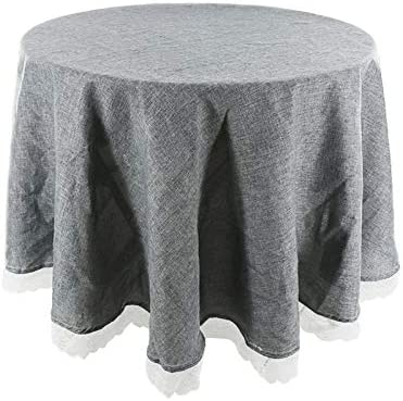 CRTTRC Solid Tablecloth Decorative Imitation Cover Super-cheap Linen OFFicial mail order R Table
