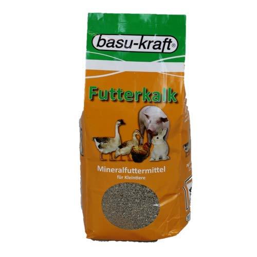 BASU Futterkalk Spezial 2,5 kg - calciumreiches Standard Mineralfutter für alle Kleintiere
