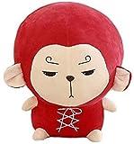 Kids Plush Toy Flower Travel Monkey Kawaii Pillow Korean Stuffed Cushion Soft Baby Birthday Children Gifts