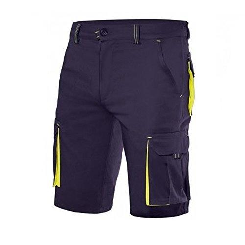 Preisvergleich Produktbild Vellla 103010S Herren Bermuda Stretch mit mehreren Taschen,  Blau 44
