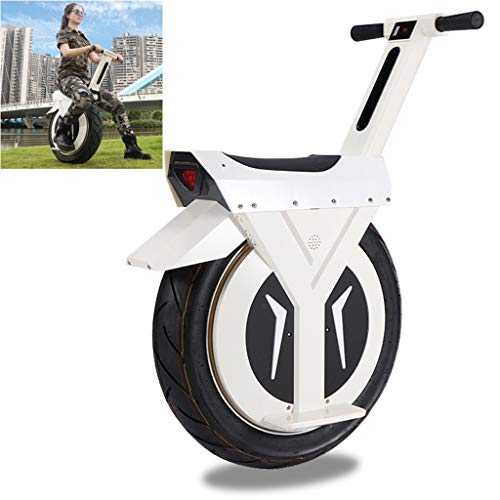 myself Smart Self-Balancing Electric Unicycle Handcycle Adult Solowheel 60V Power 500W with Seat...