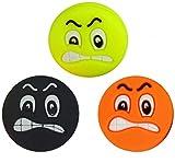 Pro 3 Smiley Tenis Emoji Antivibradores Colored Angry Face