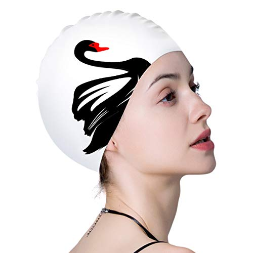 Hutigertech Swim Cap for Women Long Hair Curly Hair $3.99 (64% Off)