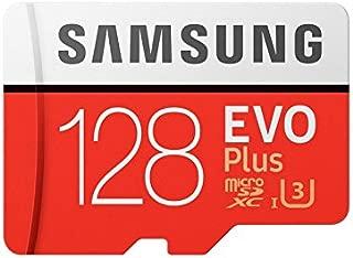 Samsung EVO Plus Grade 3 Class 10 128GB MicroSDXC Memory Card with SD Adapter (MB-MC128GA/IN)