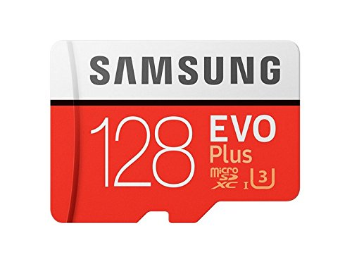 Samsung 128 GB EVO Plus Class 10 Micro SDXC mit Adapter (mb-mc128ga/in)