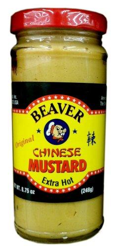 Beaver Chinese Hot Mustard 8.75oz