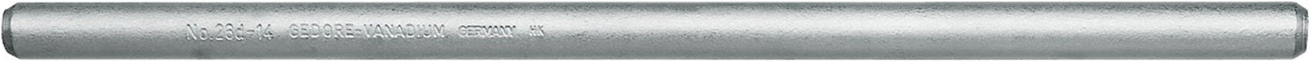 GEDORE 26 D 16 draaipen 400 mm, d 16 mm, 400 x16 mm