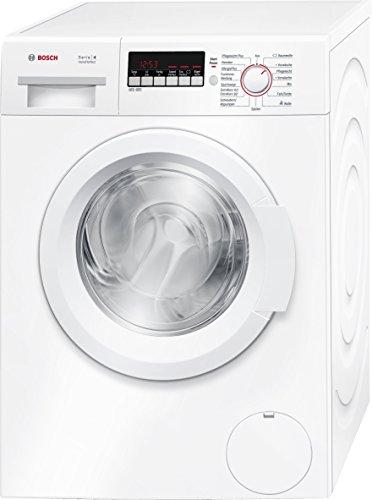 Bosch WAK28248 Serie 4 Waschmaschine Frontlader / A+++ / 196 kWh/Jahr / 1400 UpM / 8 kg / weiß / Nachlegefunktion / ActiveWater Mengenautomatik
