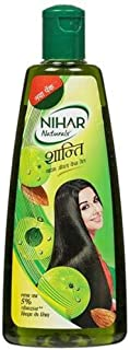 Nihar Natural Shanti Amla Hair Oil With Goodness of Almond