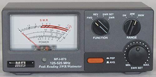 MFJ-873 125-525 MHz Grandmaster SWR Mt. Buy it now for 102.39