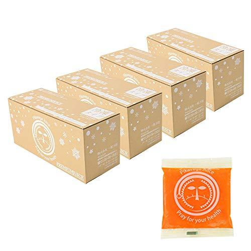 にんじんレモン冷凍ジュース 4箱  100cc×120パック 冷凍ジュース