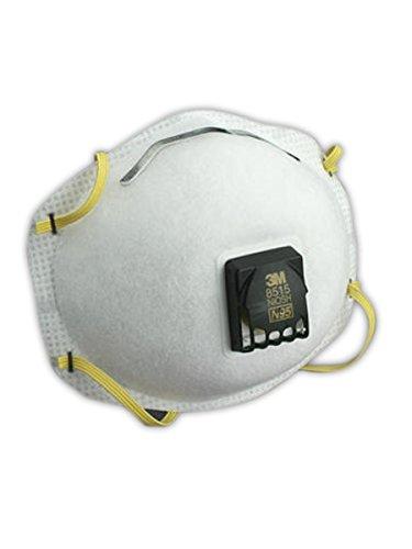 3M Particulate Welding Respirator 8515/07189(AAD), N95 80 EA/Case