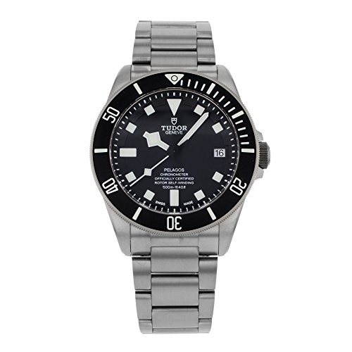 Tudor Pelagos Black Dial Titanium Mens Watch...