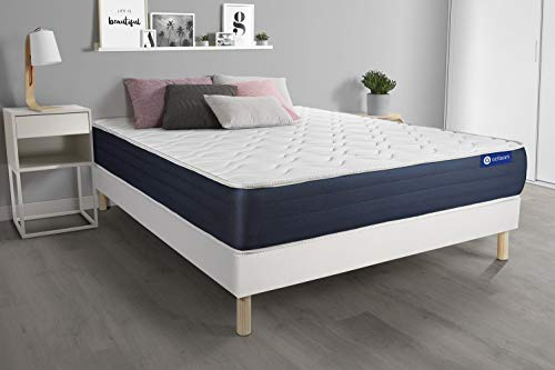 Actimemo Sleep matratze 160x200cm - Dicke : 22 cm - Memory-Schaum - 5 Komfortzonen-...