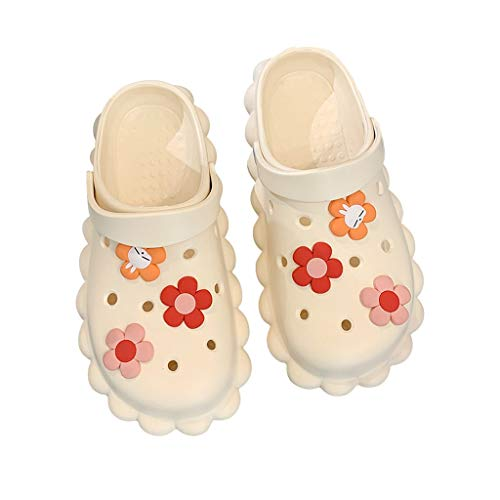 GAOYADS Zapatillas Clásicas para Mujer, Sandalias Deportivas para Mujer, Zapatillas De Interior Al Aire Libre Sandalias Ligeras Sandalias De Jardín Zapatos De Playa De Agua