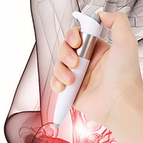 XLanY Portable Handheld Electronic Pulse Analgesia Pen, Manual Acupuncture Pen Health Relieve Muscle Body Pain Relief Acupuncture Point Massager Gift for Parents
