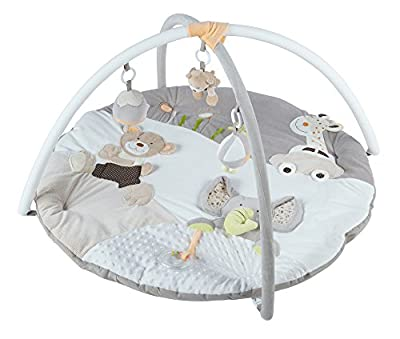 MiniDream Baby Musical Jumbo Playmat Activity Gym - Beige