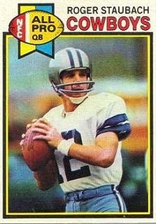 1979 Topps Regular (Football) card#400 Roger Staubach AP of the Dallas Cowboys Grade Fair/Poor