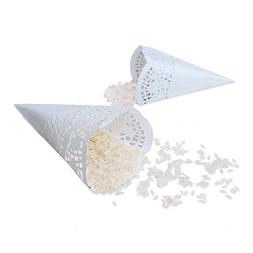 12Räucherkegel-Reis smerlettati Bianco