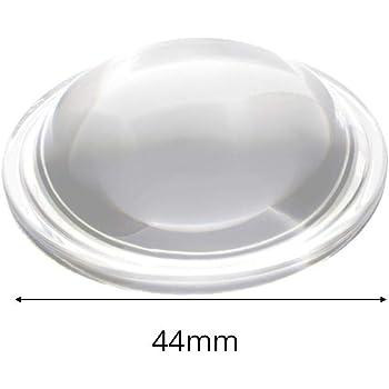 LED-Linse 30//44//54//66mm Plano-konvexe Glaslinse LED-Konvexlinse Kondensorlinse