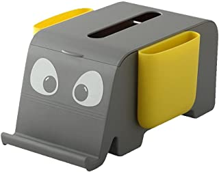 Tixiyu Elephant Shape Tissue Box, Cartoon Animal Tissue Box met mobiele telefoon houder, Multifunctionele servet Dispense...