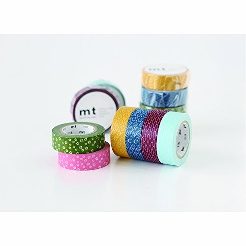 MT Japanese Paper Masking Tapes Set, Slim Tepes (MT06P003) Photo #2