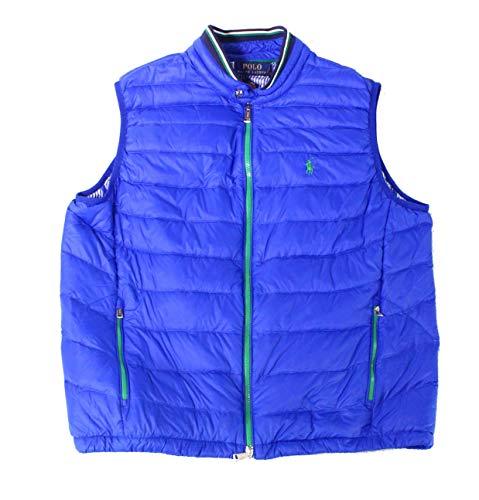 Polo Ralph Lauren Herren Weste mit durchgehendem Reißverschluss -  Blau -  Large