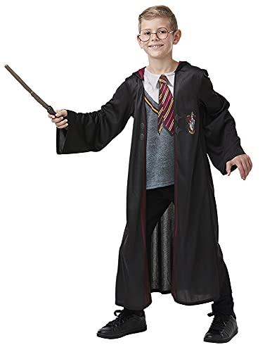 Rubies Disfraz de Harry Potter niño con accesorios 7-8 años, multicolor, 300915-L