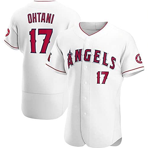 JFIOSD 2021 Elite Version n#17 Ohtanm Baseball Fan Jersey,Mujer Verano Manga Corta,Hombre Al Aire Libre Deporte Respirable T-Shirt,F1,XXL