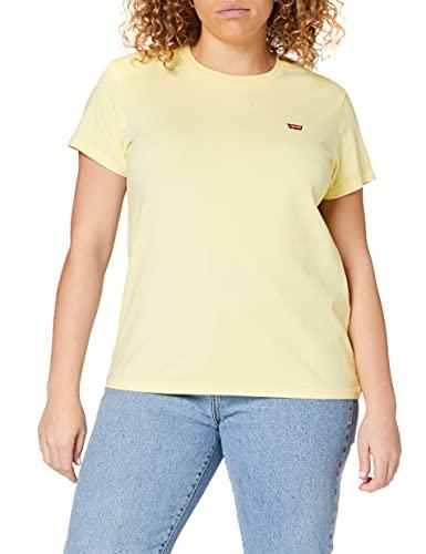 Levis Perfect Tee T-Shirt Femme, Jaune (Lemon Meringue), M