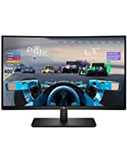 HP 27x Curved Display Monitor,FHD,27 Inches, VA, 1 HDMI, 1 Display Port, 144hz, AMD FREESYNC, Black