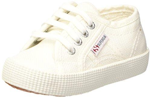Superga Unisex-Kinder 2750-cotbumpj Sneaker, Weiß (White), 30 EU