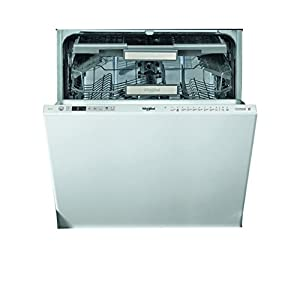 Whirlpool WIO 3O33 DEL UK Integrated Dishwasher, Full Size, Quick Wash, 14 place settings