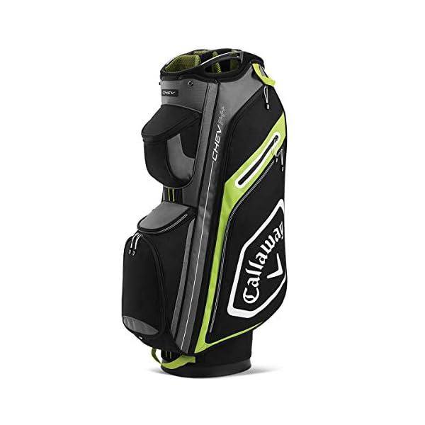 Callaway-Golf-2020-Chev-14-Sac-Chariot-NoirJaune-Fluo-Taille-Unique