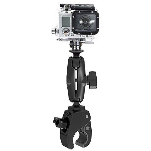 RAM Mount RAP-B-400-GOP1U Accesorio para Montaje de cámara - Accesorios para Montaje de cámaras (Negro, De plástico, GoPro Hero GoPro Hero 2 GoPro Hero 3 GoPro Hero 4, 272 g)