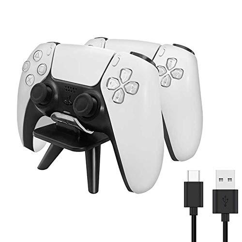Doifck Cargador Mando PS5, Accesorios ps5, PS5 Cargador, Estación de Carga Rápido USB con LED Indicador, Base de Carga para Playstation 5