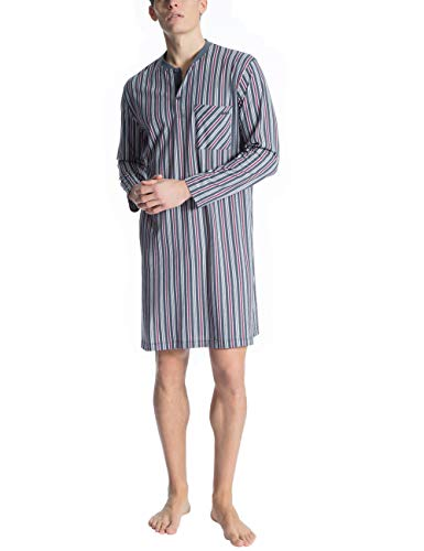 Calida Herren Relax Imprint 1 Einteiliger Schlafanzug, Schwarz (Ombre 368), (Herstellergröße: XX-Large)