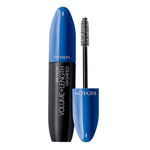 Revlon Volume + Length Magnified Mascara - Waterproof, Blackest Black, 0.28 fl oz by Revlon