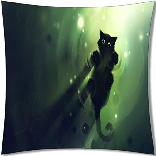 B-ssok High Quality of Lovely Cat Pillows 18X18 047