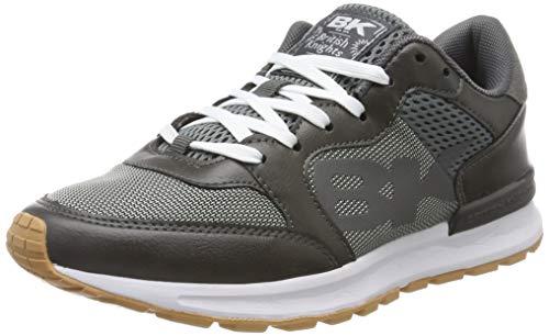 British Knights Damen Impact Sneaker, Grau (Dk. Grey Pu/Suede 01), 42 EU