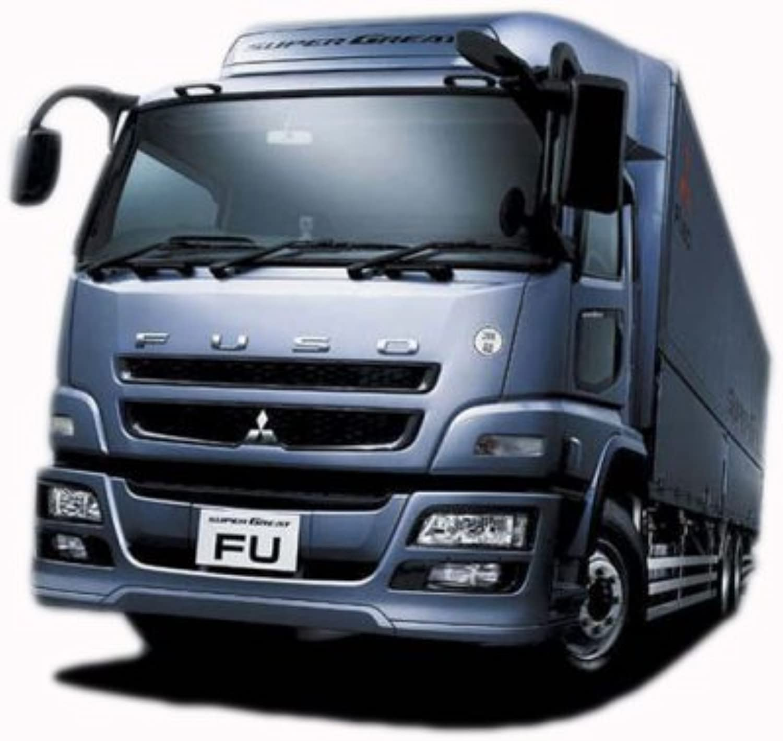 Mitsubishi Fuso `07 Super Great Insulated Truck (Model Car) Aoshima Heavy Freight No.2