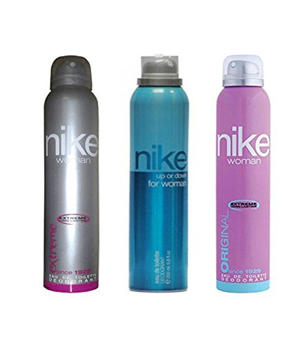 Nike Deodorant Combo Of 3 (Extreme + Up Or Down + Original) For Women