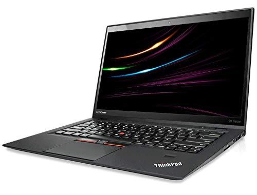 Lenovo ThinkPad X1 Carbon 3 Generation, Intel i5 2 x 2.2 GHz Prozessor, 8 GB Arbeitsspeicher, 240 GB SSD, 14 Zoll Dispaly, Full HD, 1920x1080, IPS, Cam, Windows 10 Pro, H06 (Generalüberholt)
