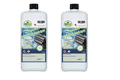JaTop Scherkopfreiniger Nachfüllflüssigkeit [1l pro Flasche] - geeignet zum Nachfüllen von Braun Clean & Renew Synchro Activator & Pulsonic Series 3/5/7/9 Panasonic - Made in DE (2)
