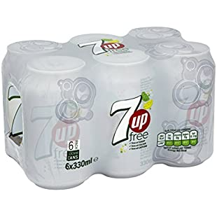 7up Free, 330 ml (Pack of 6)