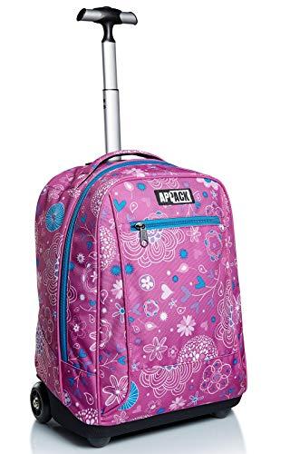 Big Trolley Appack, Webkins, Rosa, 2 in 1 Spallacci per uso Zaino, Scuola & Viaggio